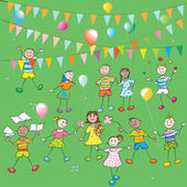 Dětská párty — Stock fotografie