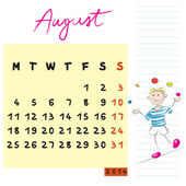 Augustus 2014 kinderen — Stockfoto