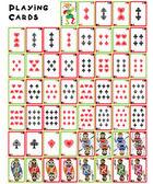 Spelkort pack — Stockfoto