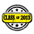 Royalty-Free Stock Photo: Class of 2013