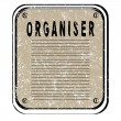 Organiser — Stock Photo