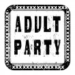 Adult party — Stock Photo