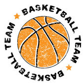 Basketball team — Stock Photo