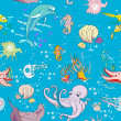 Foto Stock: Underwater pattern