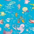 Underwater pattern — Stock Photo