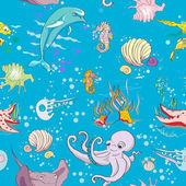 Onder de zee patroon — Foto de Stock
