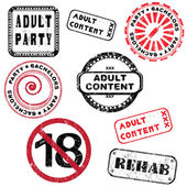 Adult content stamp series — Photo