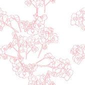 Orchideje vzor — Stock fotografie