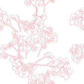 Orchids pattern — Stockfoto