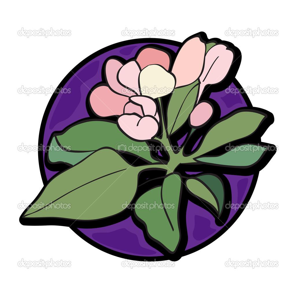 花卉剪贴画 — 图库照片08richcat#45384653