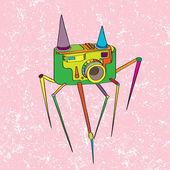 Strange camera — Stock Photo