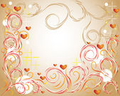 Abstract love background — Stock Vector