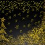 Beautiful abstract Christmas tree — Stock Vector #13789220