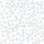Vektor vinter mönster med snöflingor för din design — Stockvektor