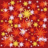 冬天的抽象背景 — 图库矢量图片