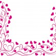 Frame for St.Valentines day - Stock Vector