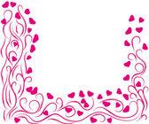 Marco st.valentines día — Vector de stock