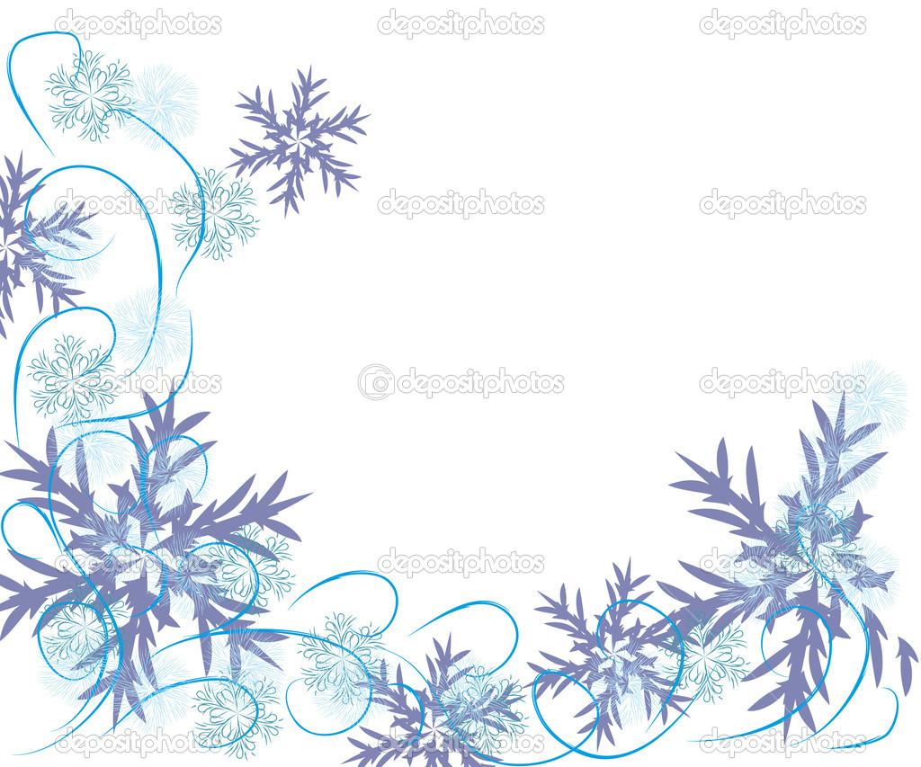 Abstrakte sanfter winter rahmen mit schneeflocken stockvektor marina irbis 15060831 - Vintage bilder kostenlos ...
