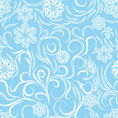 Abstract background of winter — Vector de stock
