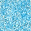 Seamless pattern with winter snowflakes — Stock Vector