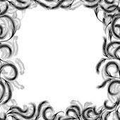 Naadloze abstracte textuur met veren van de vogel — Stockvector