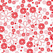 Floral seamess pattern — Stock Vector