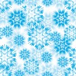 Snowflake seamless — Stock Vector