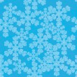 Stock Vector: Snowflake seamless
