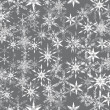 Abstract vector winter background — Stockvectorbeeld