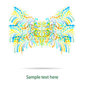 Abstract vector butterfly eps10 — Stock Vector
