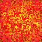 Cœur abstrait. vector illustration eps 10 — Vector de stock