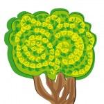 Abstract vector tree — Stock Vector #8789019