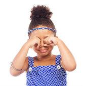 Little crying girl — Stock Photo