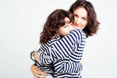 Happy mother with her son — Stock Photo