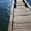Wooden pier — Stock Photo