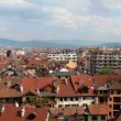 Red roofs of the city Annecy. Panorama. — Stock Photo