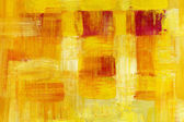 Abstract Yellow Oil Painting — Stock Photo