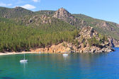 Landscape at the Baikal lake in Siberia — Foto de Stock