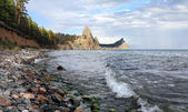 Landscape at the Baikal lake in Siberia — Stock Photo