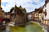 Palace of the Isle (Palais d'Isle), Annecy, France — Stock Photo