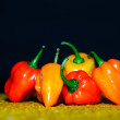 Stock Photo: Chilli peppers