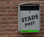 Dutch Home Mailbox — Stock Photo