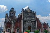 La catedral metropolitana de la asunción de maría de méxico c — Foto de Stock