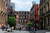 Mexico city historic buildings — Stock Photo