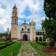 Oxtotipac church and monastery, Mexico - Stock Photo