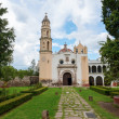 Oxtotipac church and monastery, Mexico — Stockfoto