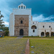 Monastery of San Agustin in town of Acolman, Mexico — Stock Photo