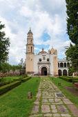 Oxtotipac iglesia y monasterio, méxico — Foto de Stock
