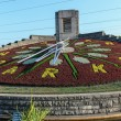 Stock Photo: Flower clock in Niagara Falls, Ontario Canada