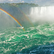 Stock Photo: Rainbow Rises from NiagarFalls